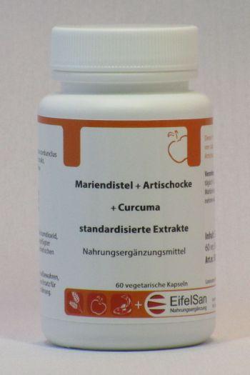 Mariendistel Artischocke Curcuma Extract
