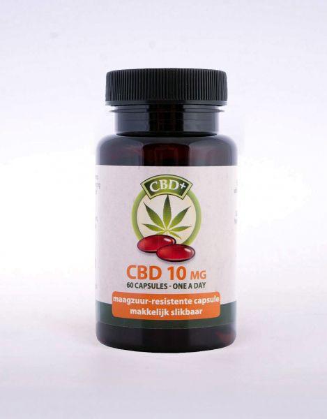 CBD Kapseln 10 mg Jakob Hooy