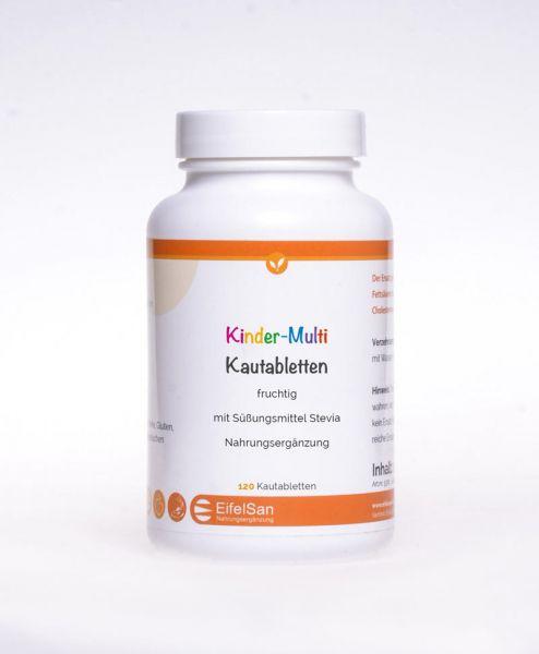 Kinder-Multi Kautabletten fruchtig NEU 120 Tabletten