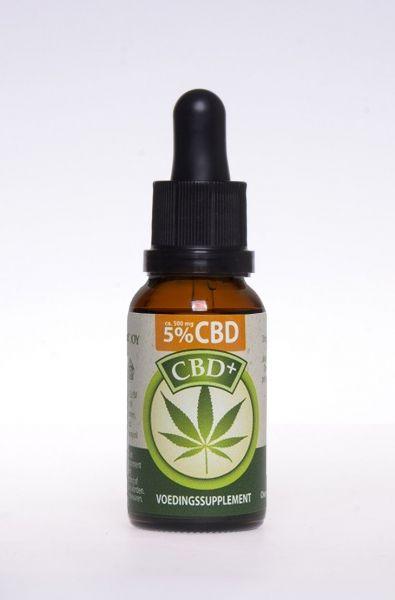 Cannabidiol CBD 5% Tropfen aus Hanf 30ml