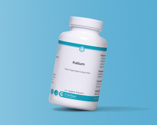 Kalium-Citrat 120 Kapseln vegan 325 mg