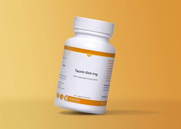 Taurin 600 mg vegan 120 Kapseln