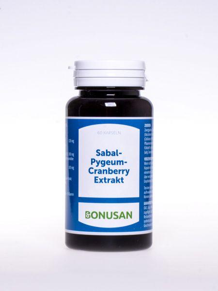 Sabal Pygeum Preiselbeere Extrakt