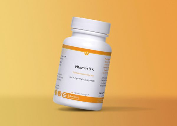 Vitamin B5 Pantothensäure Vegan 500 mg