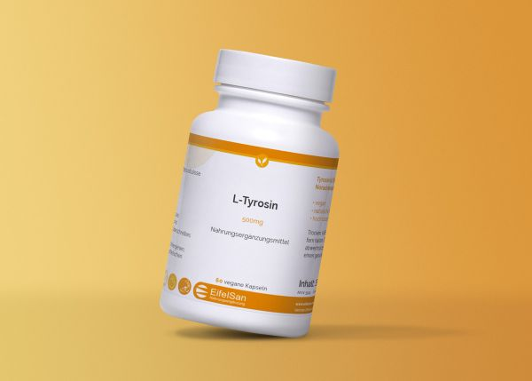 L-Tyrosin 500 mg vegan - hypoallergen