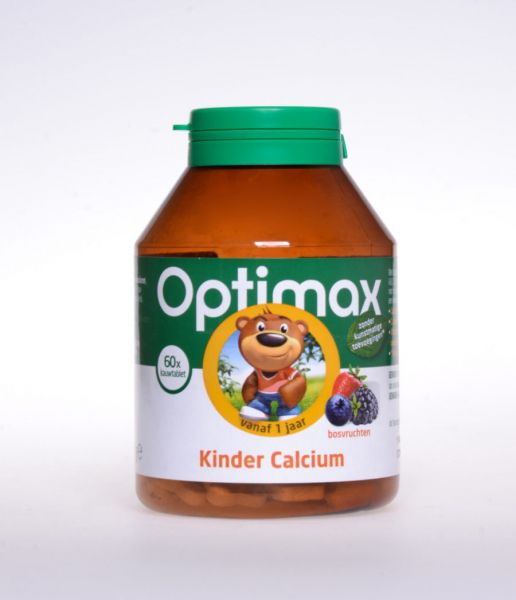 Kinder Calcium Kautabletten