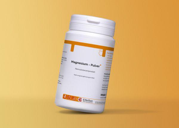 Magnesium Pulver + natürlichen Magnesiumverbindungen, Taurin + aktivem B6