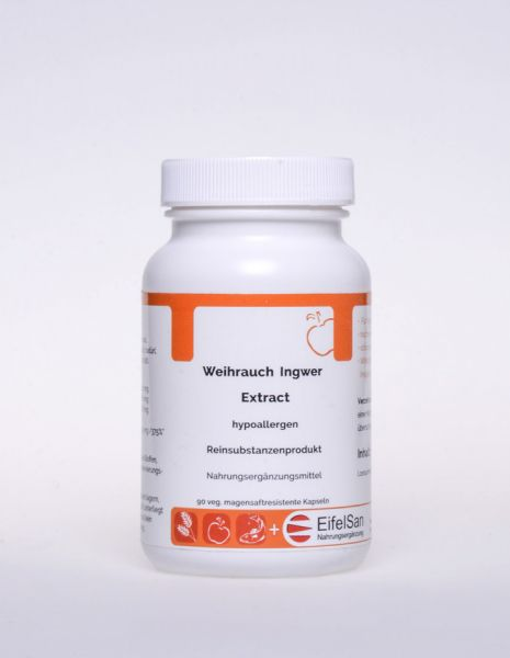 Weihrauch Ingwer Extract