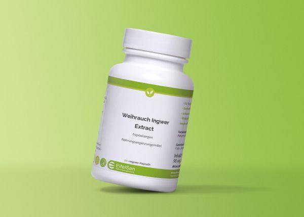Weihrauch Ingwer Extract mit Vitamin E 180 Kaps