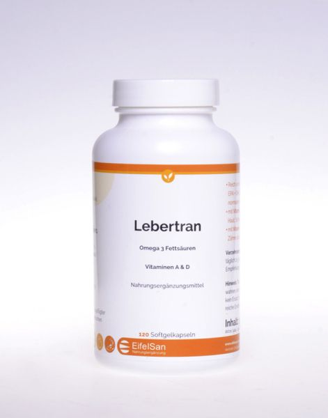 Lebertran Vitamine A+D3 + Omega 3