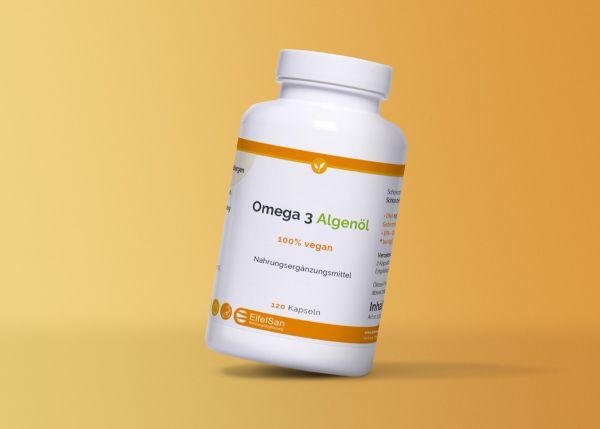 Omega 3 Algenöl DHA + EPA 100% vegan