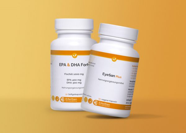 EyeSan Plus & EPA DHA Forte Fischöl