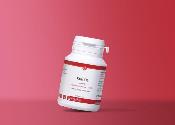 Krillöl mit Astaxanthin