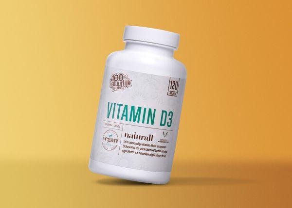 Vitamin D3 vegan 1000iE / 25µg