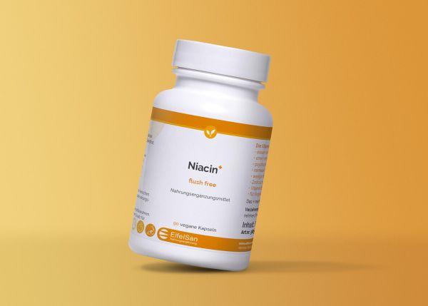 Niacin flush free+ Vitamine B3, B6 und Zink