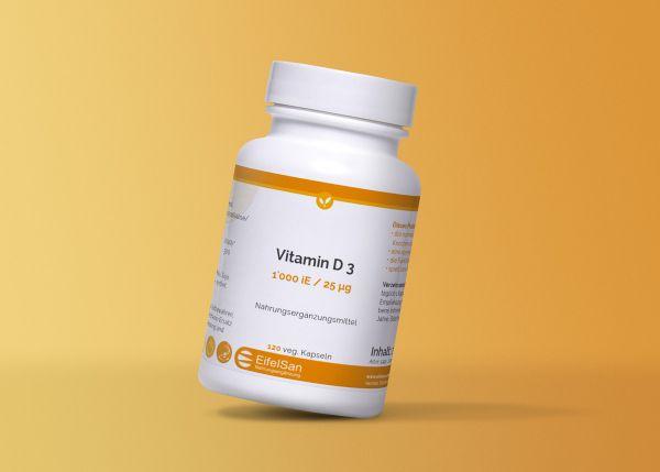 Vitamin D3 1'000 iE/25 µg