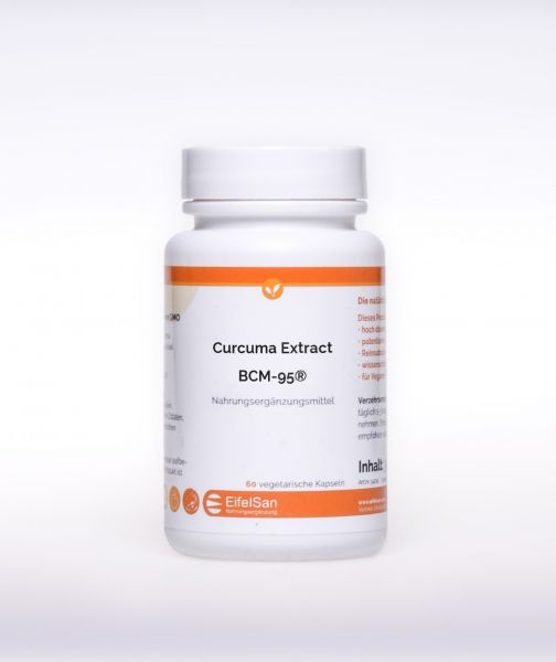 Curcuma Kapseln: Curcuma Extract Bio Curcumin BCM-95®