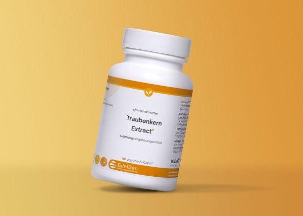 Traubenkern Extract mit OPC, Flavonoiden, Vitamine C+E