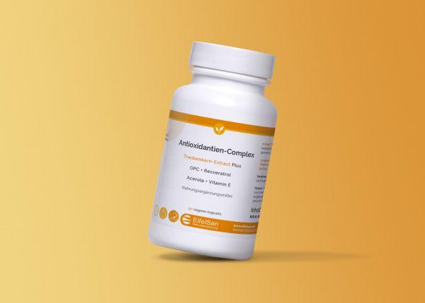 Antioxidantien-Complex Traubenkern Extrakt mit OPC, Flavonoiden, Vitamine C+E