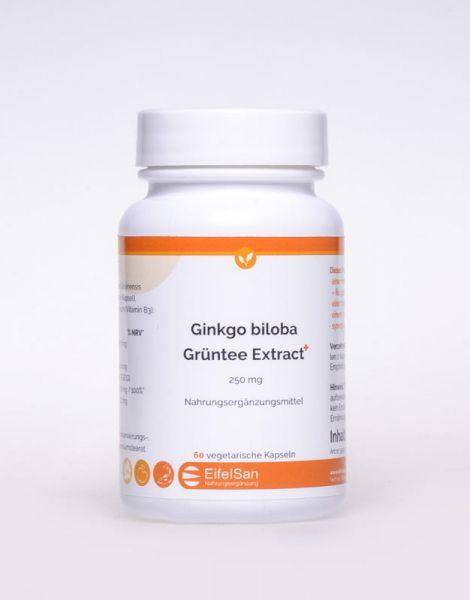 Ginkgo biloba Grüntee Extract+