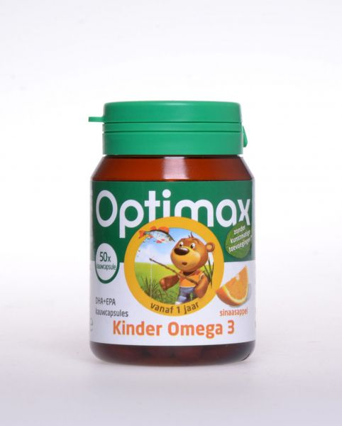 Kinder Omega 3 DHA + EPA Kaukapseln