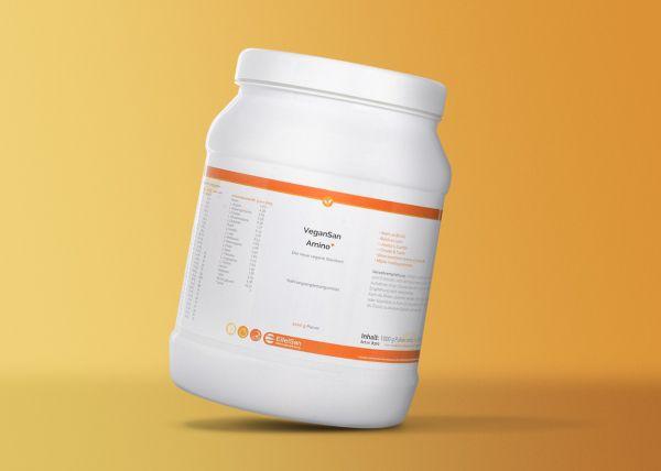 VeganSan Amino PLUS+ - vegane Protein-Ergänzung