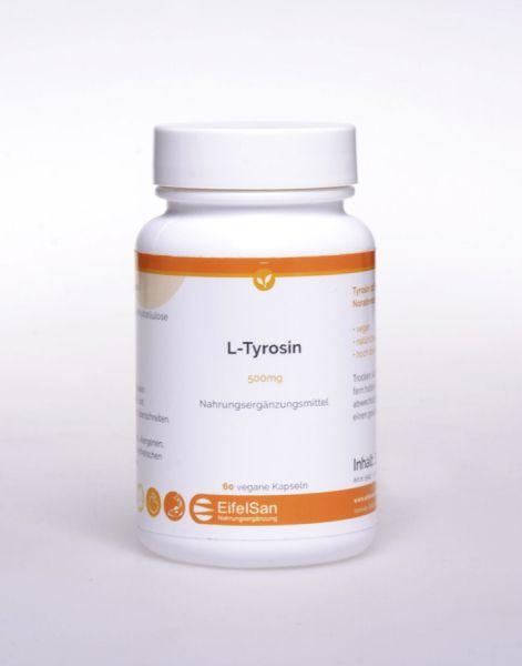 L-Tyrosin 450 mg vegan - hypoallergen
