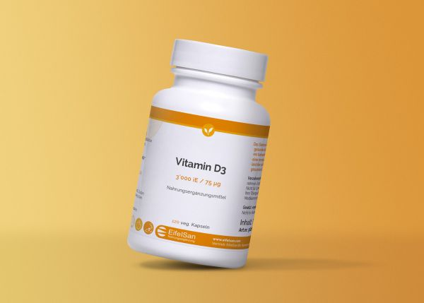 Vitamin D3 75 mcg / 3000 iE