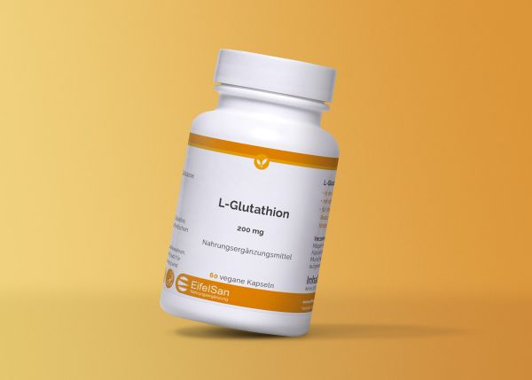 L-Glutathion - vegan red. mit optimaler Bioverfügbarkeit