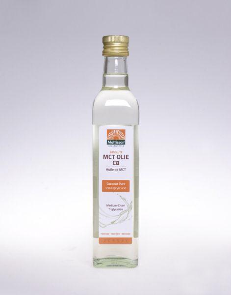 MCT Öl C8 Coconut Pur 99% Caprylsäure