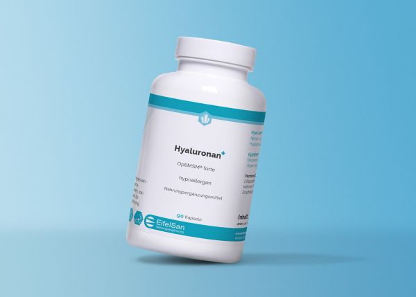 Hyaluronan + OptiMSM - Hyaluronsäure + OPTI MSM für geschmeidige Gelenke