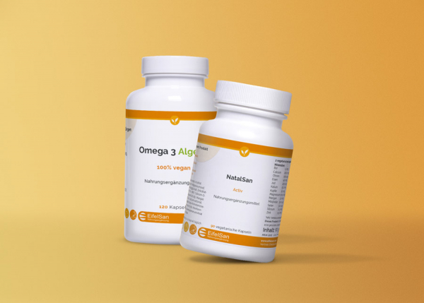 Mami-Vital-Paket: NatalSan Activ + Omega 3 Algenöl Vegan
