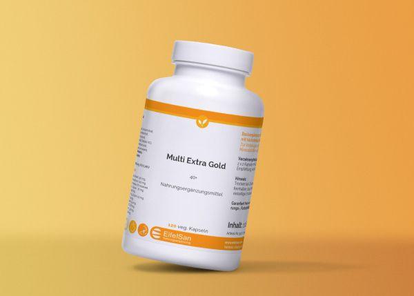 Multi Extra Gold Kapseln 38 Vitalstoffe