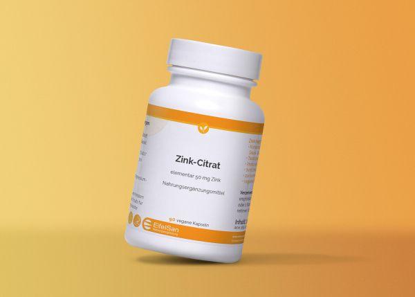Zink Citrat 50 mg vegan