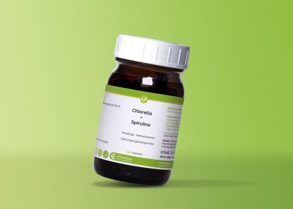 Chlorella + Spirulina Mikroalgen Complex